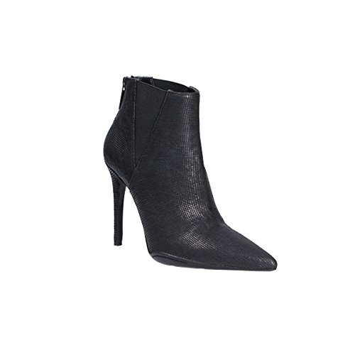 ES145 GIAMPAOLO Boots Black Leather VIOZZI Women's Ankle wBBqOE