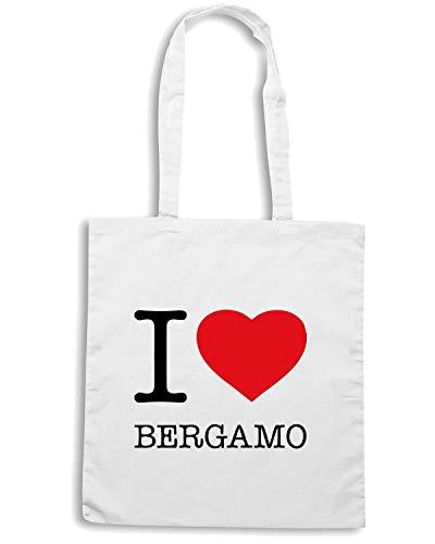 Borsa BERGAMO Shopper LOVE TLOVE0015 I Bianca Rgp1OqwrR