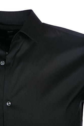 BOSS Shirt Ilan in Black