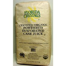 Florida Crystals Inc Organic Powdered Evaporated Cane Juice, 50 lb -- 1 each by Florida Crystals