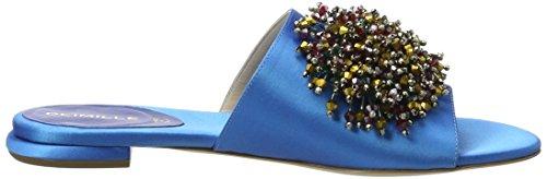 Dei Mille Damen Dominga W/Acc Offene Sandalen Blau (Aqua Satin)