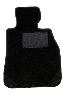 ZERO ゼロ フロアマット(脱臭消臭加工済み) トヨタ アルファードハイブリッド 7人乗り :回転式 : H23/11~H27/1 ATH20W 用 ZERO2000 ブラック ヒールパッド付B00UKVLG2U--