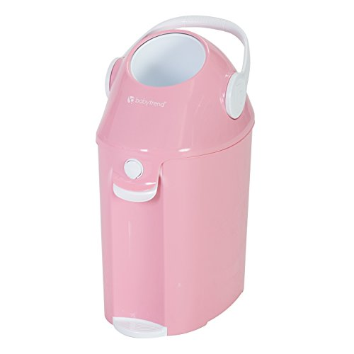 Baby Trend Diaper Champ Deluxe, Peek-A-Boo Pink by Baby Trend (Image #1)