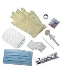 E*Kits Central Line Dressing Trays - Contains: PVP Swabs (3 pk),10 Guaz Sponges (4