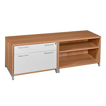 Amazon.com : Modern Low Storage and File Credenza - 60