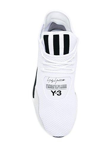 ADIDAS Y-3 YOHJI YAMAMOTO Herren AC7195 Weiss Stoff Sneakers