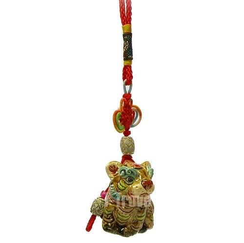 T-Trove Chinese Zodiac Tiger Tassel Hanging Art