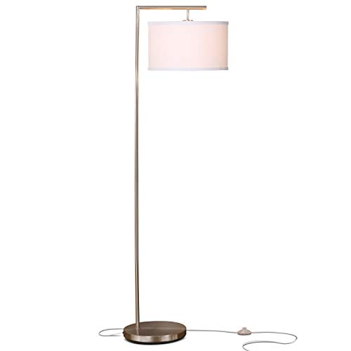Brightech Montage Modern LED Floor Lamp - Living Room Standi