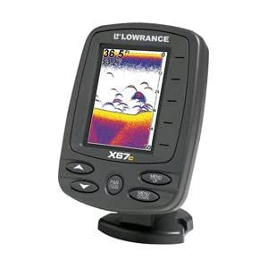 Lowrance x67c transom mount fishfinder gps for Amazon fish finder