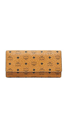 MCM Women's Trifold Wallet, Cognac, One Size by MCM