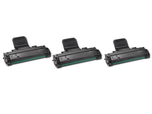 3 Pack Of Compatible Toner Cartridge For Samsung ML-2510 Printers, Office Central