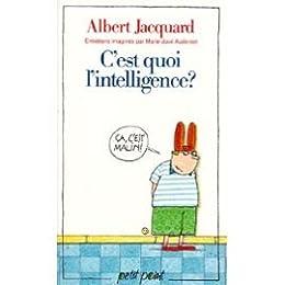 C'est quoi l'intelligence ?