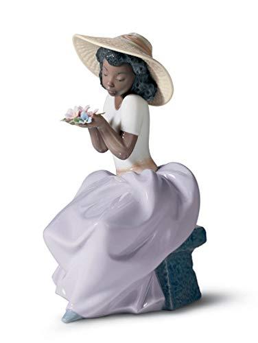 Lladro Sweet Fragrance Porcelain Sculpture