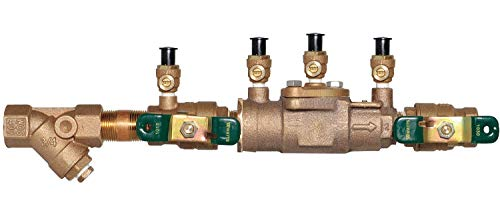 Watts Double Check Valve Assembly, Bronze, Watts 007 Series, FNPT Connection - 3/4 LF007M3-QT-S
