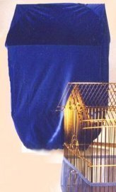 Sheer Guard Bird Cage Cover - Large (Royal)