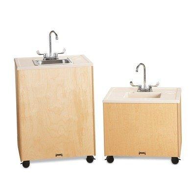Jonti-Craft 1360JC Birch Clean Hands Helper Plastic Sink, 24