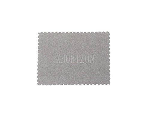 xhorizon [Noir] Housse absorbante anti-choc élastique à ossature élastique résistant aux chocs pour Apple iPhone X