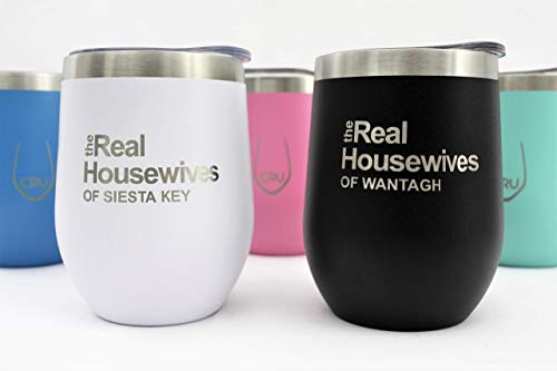 (The Real Housewives of *Your City* Vacuum Insulated Wine Tumbler with Lid - CRU)