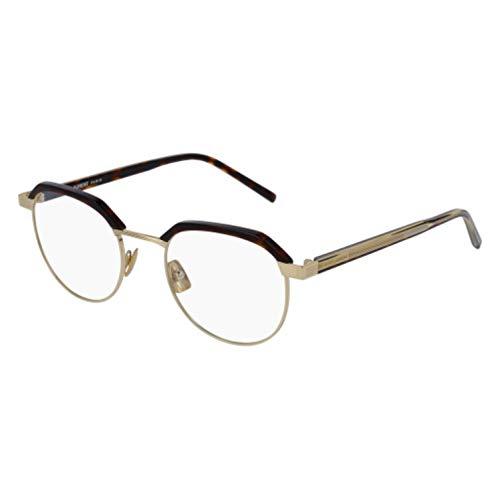 Saint Laurent SL 124 Eyeglasses 003 Havana/Gold 50 -