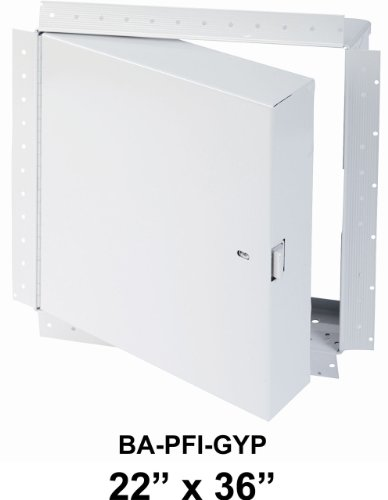 22'' x 36''- Fire Rated Insulated Access Door with Drywall Flange by Best Access Doors