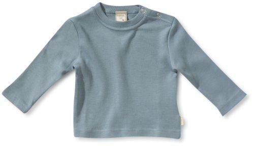 Lana Naturalwear - Sudadera con cuello redondo de manga larga para bebé Azul cielo