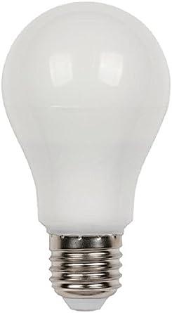 37128 60 Watt Equivalent A60 Dimmable Warm White Led Light Bulb With E27 Base Amazon Co Uk Lighting