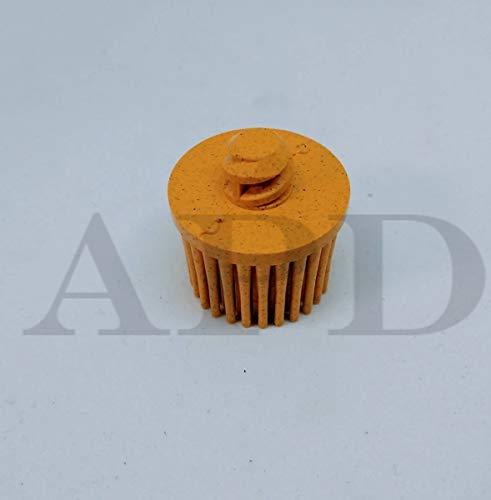 80 -PK 3M 18706 Scotch-Brite Roloc Bristle Disc, 1 Inch X 5/8 Inch 80 Grit // 7100138319