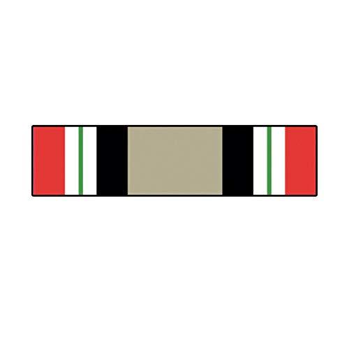 Morgan Graphics ICM Iraq Campaign Medal Service Ribbon Sticker Army USN USMC USCG USAF Iraqi Vinyl Decal Sticker Car Waterproof Car Decal Bumper Sticker 5