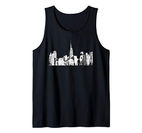 - New York Souvenir, Empire State Building, NYC  Tank Top