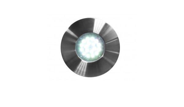 Proyector LED piscina Nova acero inoxidable cepillado - Ccei - para nicho Standard PAR56: Amazon.es: Jardín