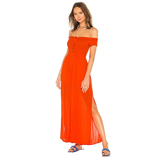 - LSpace Women's Threads Jumpsuit Swim Cover up Poppy S