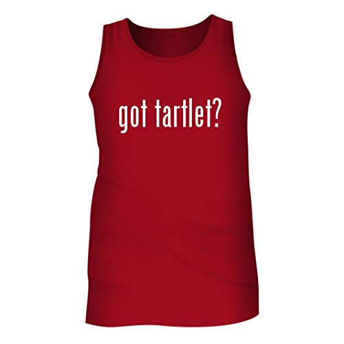 Tracy Gifts Got tartlet? - Men's Adult Tank Top, Red, Medium (Tartlet Fluted Tin)