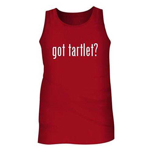 Tracy Gifts Got tartlet? - Men's Adult Tank Top, Red, Medium (Tin Fluted Tartlet)