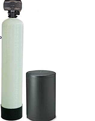 Wholehouse Water Softener with Meter Valve 48000 Grain.1-4 persons home