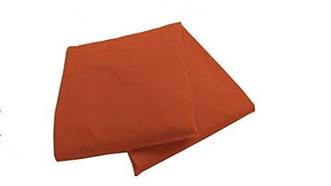 Orange BabyDoll 2 Piece Port-a-Crib Sheet Set
