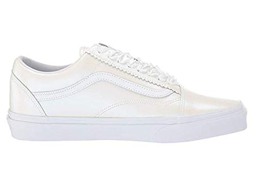 Vans FU Old Skool (VRL) (Suede/Canvas) Carmine Rose/True White 3.5