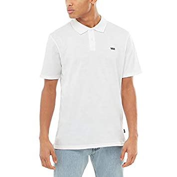 Vans Classic Polo II T-Shirt -Fall 2018-(VN0A3HLHWHT1) - White - S ...
