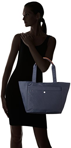 Joop! Nylon Naviga Helena Shopper LHZ - bolsa de medio lado Mujer Azul (402)
