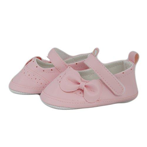 Festliche Babyschuhe Ballerinas rosa Taufschuhe Gr. 19 Modell 4693