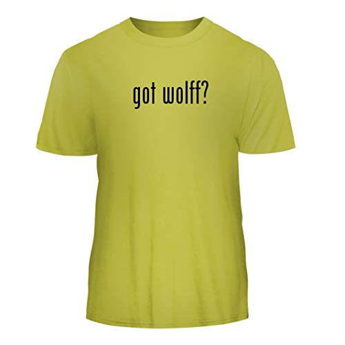 - Tracy Gifts got Wolff? - Nice Men's Short Sleeve T-Shirt, Yellow, Small