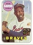 #6: 2000 Topps Aaron Baseball Card #16 Hank Aaron Mint
