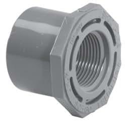 Lasco 838-168 3,17 cmSPG x 2,54 cm FPT Schedule 80 Reductor de PVC Bushing 838-16