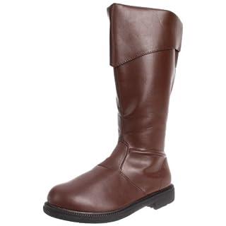 Funtasma Men's Captain-105/BN Dress Boot,Brown Polyurethane,Medium / 10-11 D(M) US