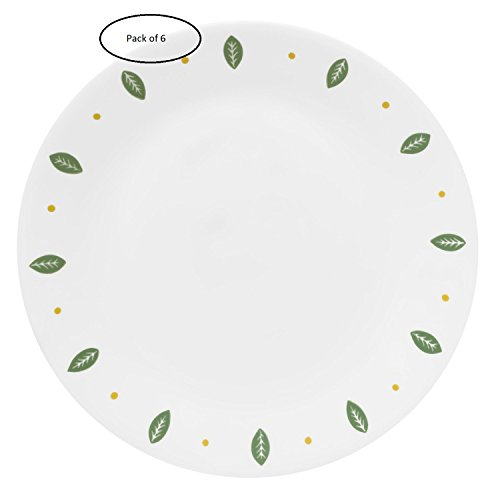Corelle Livingware Bread and Butter Plate, City Gardens , Size: 6-3/4-inch (Pack of 6)