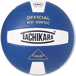 (Scarlet/白い/黒) - Tachikara SV5WSC Sensi Tec Composite High Performance Volleyball