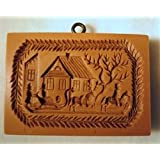 Sleigh springerle cookie mold by Anis-Paradies