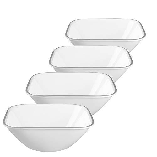 (Соrеllе Square Jacaranda 22-oz Soup/Cereal Bowl (Set of 4))