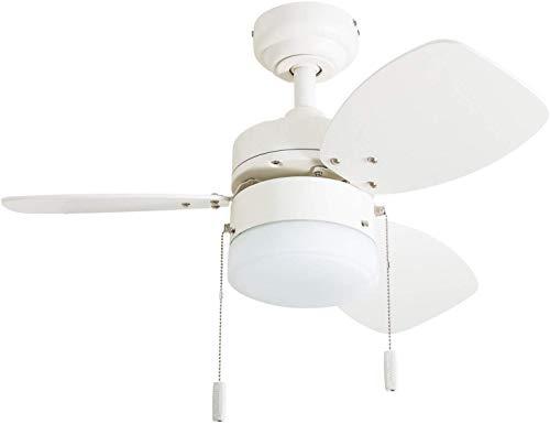 White Ceil Fan - 8