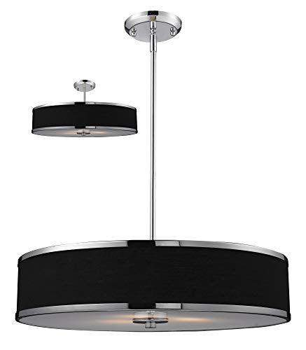 Cameo Convertible 2 Light Drum Foyer Pendant Size: 53.5