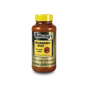 Johnny's Seasoning Salt , NO MSG 42-Ounce Bottle (Pack of 3)